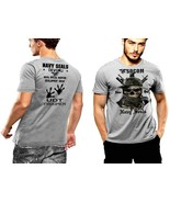 Navy Seals T-Shirt Boonie Hat SOCOM UDT Frogmen Never Quit DEVGRU 2 SIDE... - $29.99+