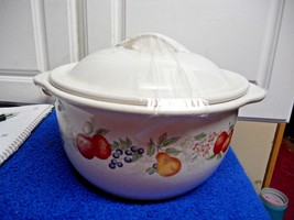 Chutney Covered Dish with Lid 1 1/2 Quarts  CUTE - $13.09