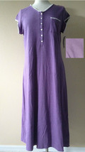 Eileen West Fables of Flowers Cap Sleeve Brushed Gown E543991 H.Lilac Me... - $28.00