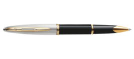 Waterman Paris CARENE DELUXE BLACK GT Fountain/Roller Ball/Ballpoint Pen image 3