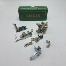 Lot of 7 Singer 122 Sewing Machine Attachments w Box 120598 36865 35831 160359 - $72.51 CAD