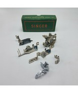 Lot of 7 Singer 122 Sewing Machine Attachments w Box 120598 36865 35831 160359 - $54.95