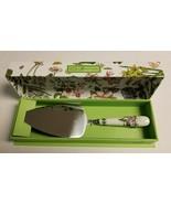 NIB Portmeirion BOTANIC GARDEN Cake Slice Serving Utensil Beautiful Hand... - $14.99