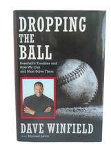 NY Yankees Dave Winfield Signed Dropping the Ball Hardcover Book Padres ... - $98.99