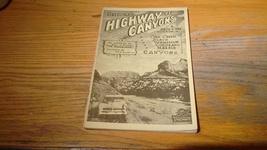 "Arizona travel booklet "" Highway of Canyons"" circa 1956 - $32.00"