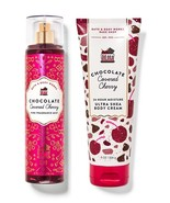 Bath & Body Works Chocolate Covered Cherry 2 Piece Set - Body Cream & Mist - $31.50