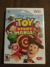 Toy Story Mania (Nintendo Wii 2009) w/ 3D Glasses Disney Pixar Rated E NIP - $34.19