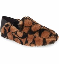 Coach Holly Signature Shearling Loafers Slipper Saddle Size 7 MSRP: $275.00 - $197.99