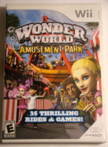 Nintendo Wii - WONDER WORLD AMUSEMENT PARK (Complete with Manual) - €7,02 EUR