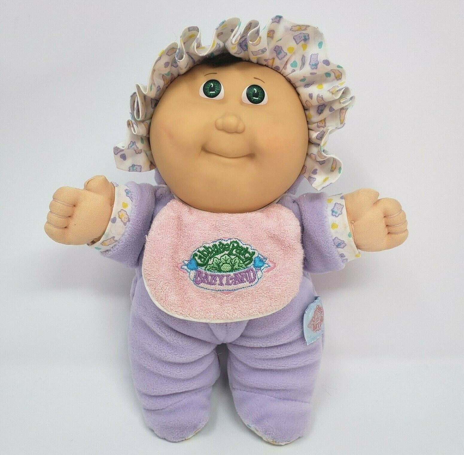 Primary image for VINTAGE 1988 CABBAGE PATCH KIDS BABYLAND RATTLE STUFFED ANIMAL PLUSH TOY DOLL