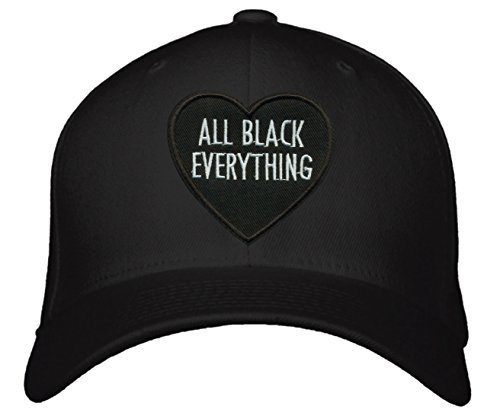 All Black Everything Love Hat - Black Snapback Cap