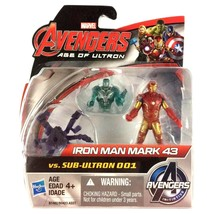 "Iron Man Avengers Age of Ultron 2.5"" Action Figure Marvel New 2015 Hasbro - $9.85"