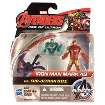 "Iron Man Avengers Age of Ultron 2.5"" Action Figure Marvel New 2015 Hasbro - $9.85"