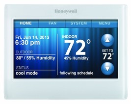 Honeywell TH9320WF5003 Wi-Fi 9000 Color Touch Screen Programmable Thermo... - €156,77 EUR