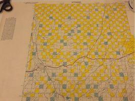 "Vintage 1980 Lot (8) Wyoming Quad Index Map US Dept of Interior 22x16.5"" 2 Sided image 6"