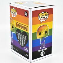 Funko Pop! Animation Bob's Burgers Pride 2021 Rainbow Tina Belcher #76 Figure image 4