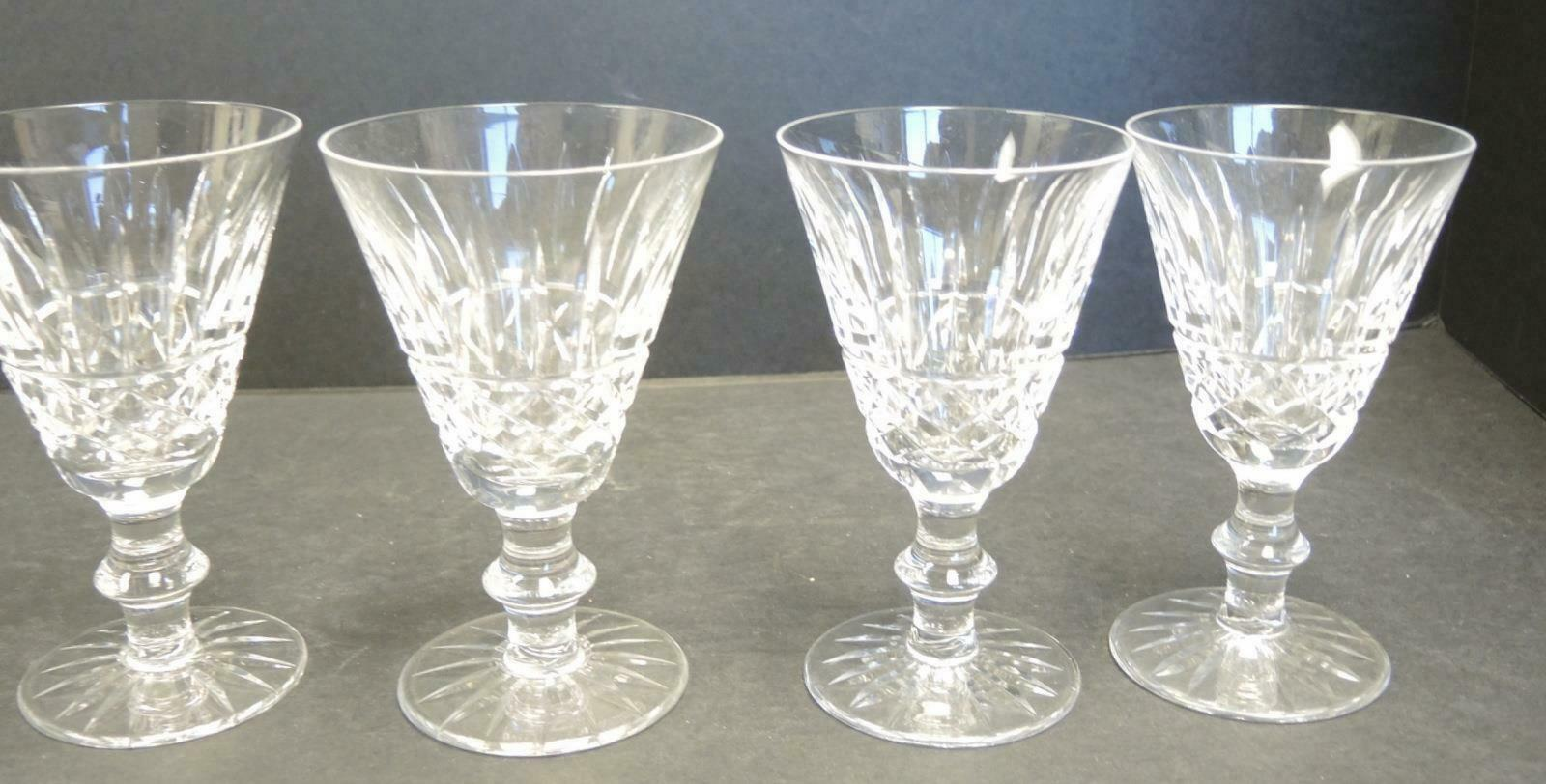 Primary image for Four Waterford Cut Crystal White Wines - Tramore Pattern