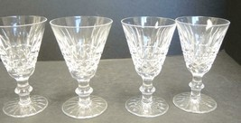 Four Waterford Cut Crystal White Wines - Tramore Pattern - $71.24