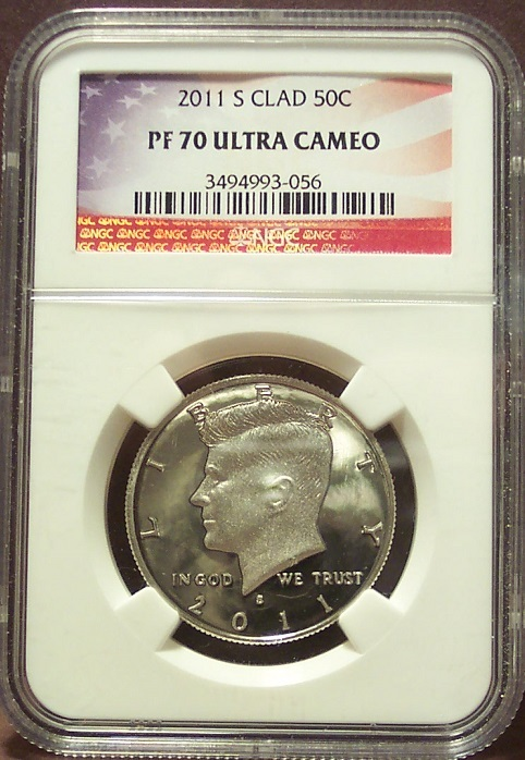 Primary image for 2011-S Proof Kennedy Half Dollar NGC PF 70 UC #G019