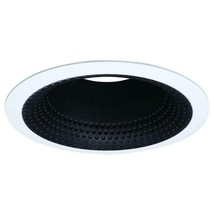Halo E26 Series 5 in. Black Recessed Ceiling Light Perftex Baffle - £9.97 GBP