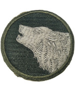 WWII U.S. Army Gemsco Row Embroidery 104th Infantry Division White Back Patch - $42.97