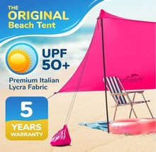 Lightweight Beach Tent Large Family Canopy Sun Protection Portable Shade... - $128.90