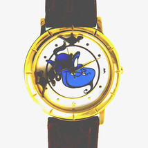 "Genie Disney 'Aladdins '""Floating Lamps,"" Mans Fossil Watch, # LI-1046 U... - $64.20"