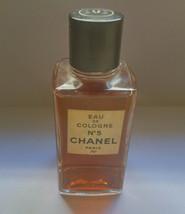 Vintage Chanel no5  Eau de cologne paris Splash 120 ml  4 fl oz  Made in... - $85.00