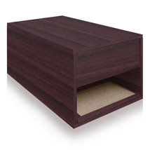 Way Basics Cat Litter Sidetable, Espresso - $99.98