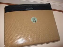Ralph Lauren PALMER full queen Cotton Bed Blanket Burnished Chamois Gold - $141.57