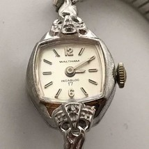 Vintage Swiss Made Waltham 17 Jewels Incabloc Wind Up Ladies Watch - $34.64