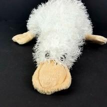"Ganz Webkinz Plush White Platypus Googles HM021 Soft Wire Hair 11"" No Co... - $10.88"