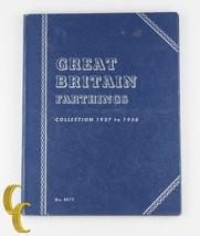 1937-1956 GRAN BRETAGNA MONETA FARTHING Book of 24 George VI, Elizabeth II - $176.16
