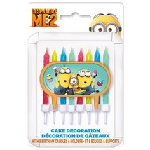 Despicable Me Cake Topper & Birthday Candle Set (2 Pack) 16 Candles!