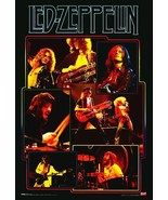 Led Zeppelin Classic Live Stand-Up Display - Retro Classic Rock Music Gift - $15.99