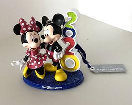 Walt Disney World 2020 Mickey Minnie Mouse Figurine Ornament NEW - $36.90