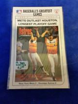 """1989 LJN Topps Baseball Talk - #5 86"""" NL Championship Mets Outlast Houston - MLB - $1.19"""