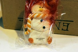 CHRISTMAS ORNAMENTS WHOLESALE- SNOWMAN- 13361- 'CHRISTMAS 2005'- (12) - ... - $9.75