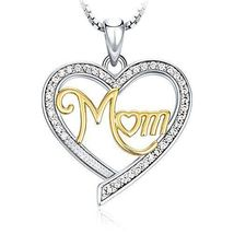 Gift For Mother Mother's Day Gift Necklace Pendant Jewelery For Mom Hear... - $24.74