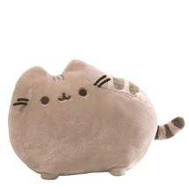 "Pusheen Deluxe Stuffed Animal Plush Chubby Gray Tabby Cat 19"" Washable C... - $30.65"
