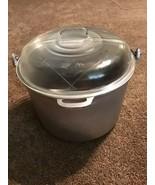 GUARDIAN SERVICE WARE RARE Kettle Dutch Oven Large Stock Pot Pan Glass Lid - $74.24
