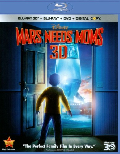 Disney's Mars Needs Moms (Blu-ray 3D / Blu-ray / DVD Combo) (2011)