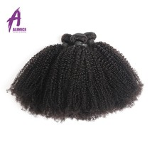 Alimice Hair Brazilian Afro Kinky Curly Hair Weave Bundles 100% Human Hair Exten - $321.10