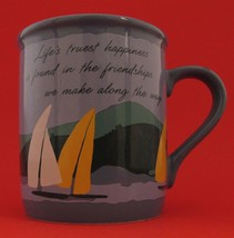 "Mug Mates ""Life's Truest Happiness is Found..."" Coffee Mug Cup 1985 Hallmark - $15.83"