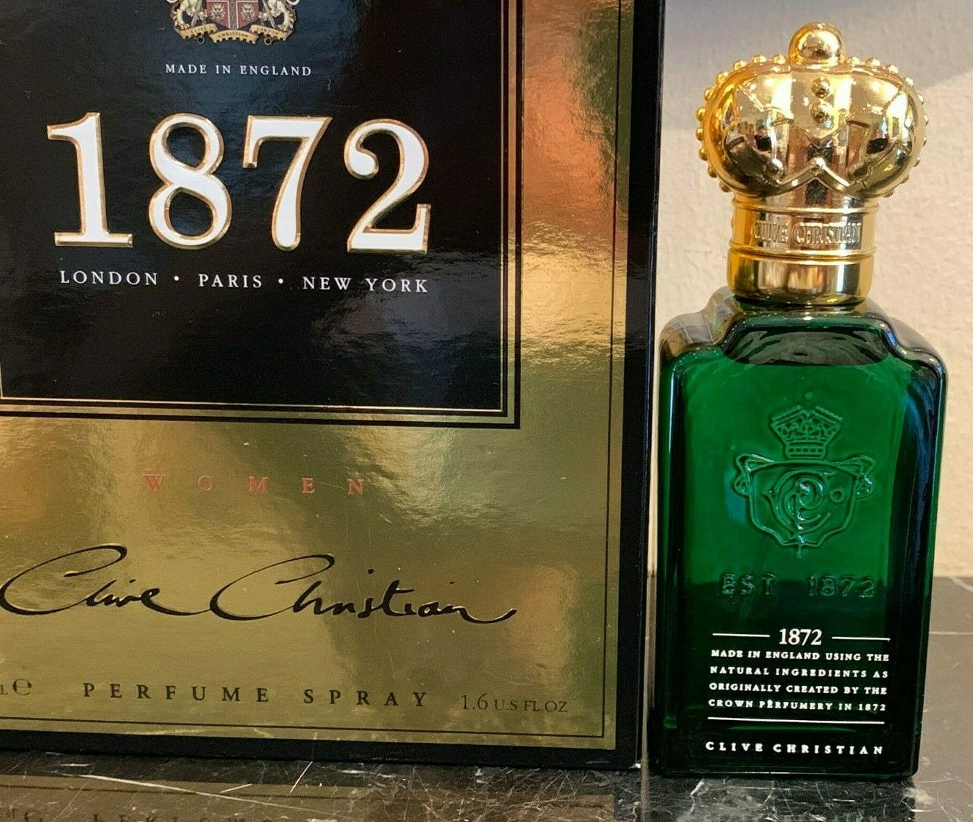 Primary image for Clive Christian 1872 Brand New Perfume Spray for Women 1.6 FL OZ / 50 ML