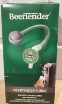 BEERTENDER - FIVE(5) Replacement Tubes - NEW SEALED -  Heineken Draught ... - $24.09