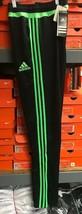 Adidas Youth Tiro 15 Pants Black/Green Size Youth XLarge (15-16) - $39.60