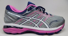 Asics GT 2000 v 5 Women's Running Shoes Size US 8 M (B) EU 39.5 Silver T757N