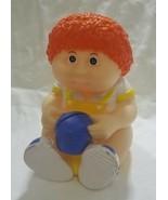 Vintage Cabbage patch kids boy piggy bank plastic doll star power - $21.13