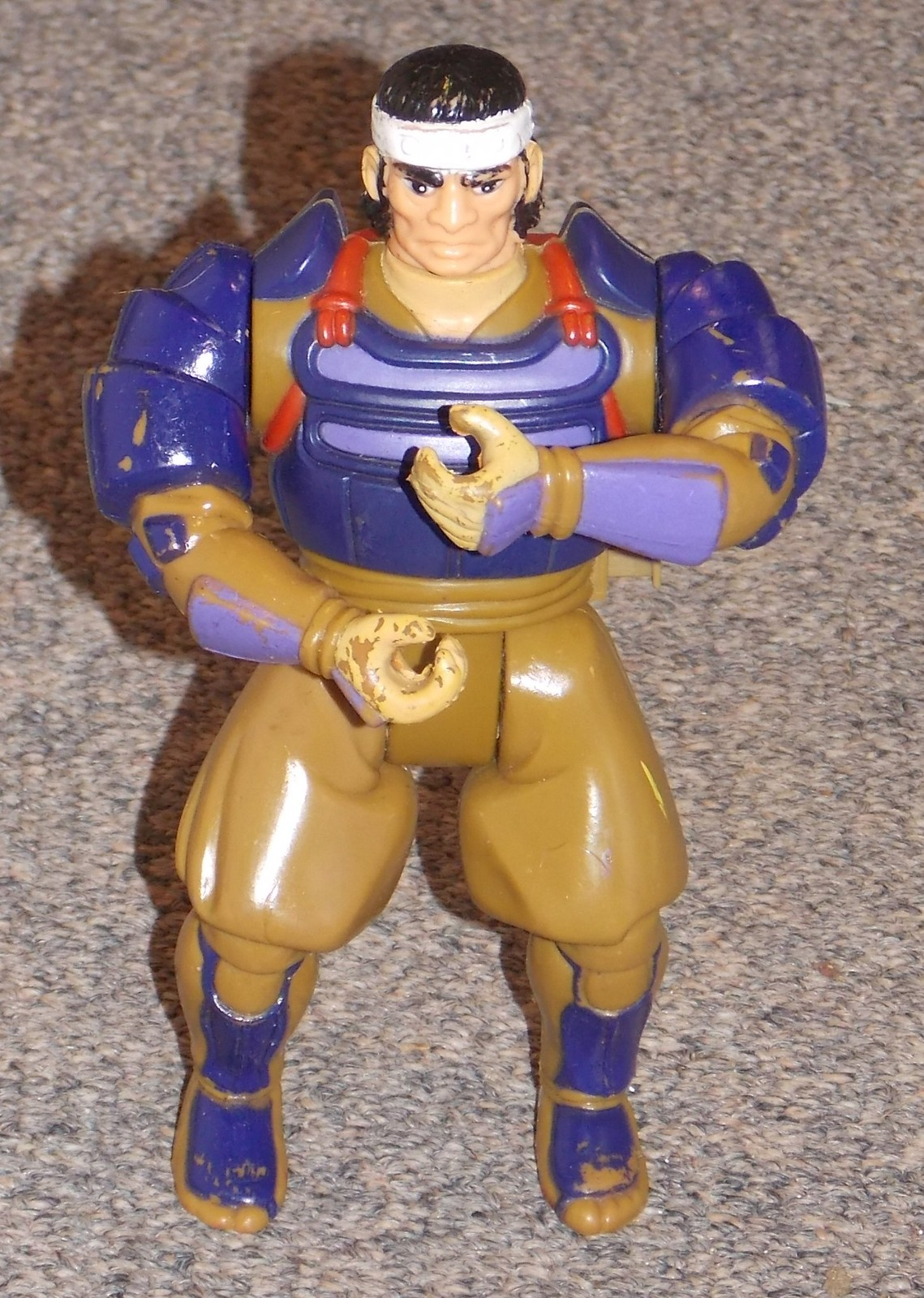 Primary image for Vintage 1985 LJN Thundercats Hachiman Samurai 6 inch Action Figure